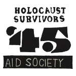 Holocaust Survivors '45 AID SOCIETY Logo