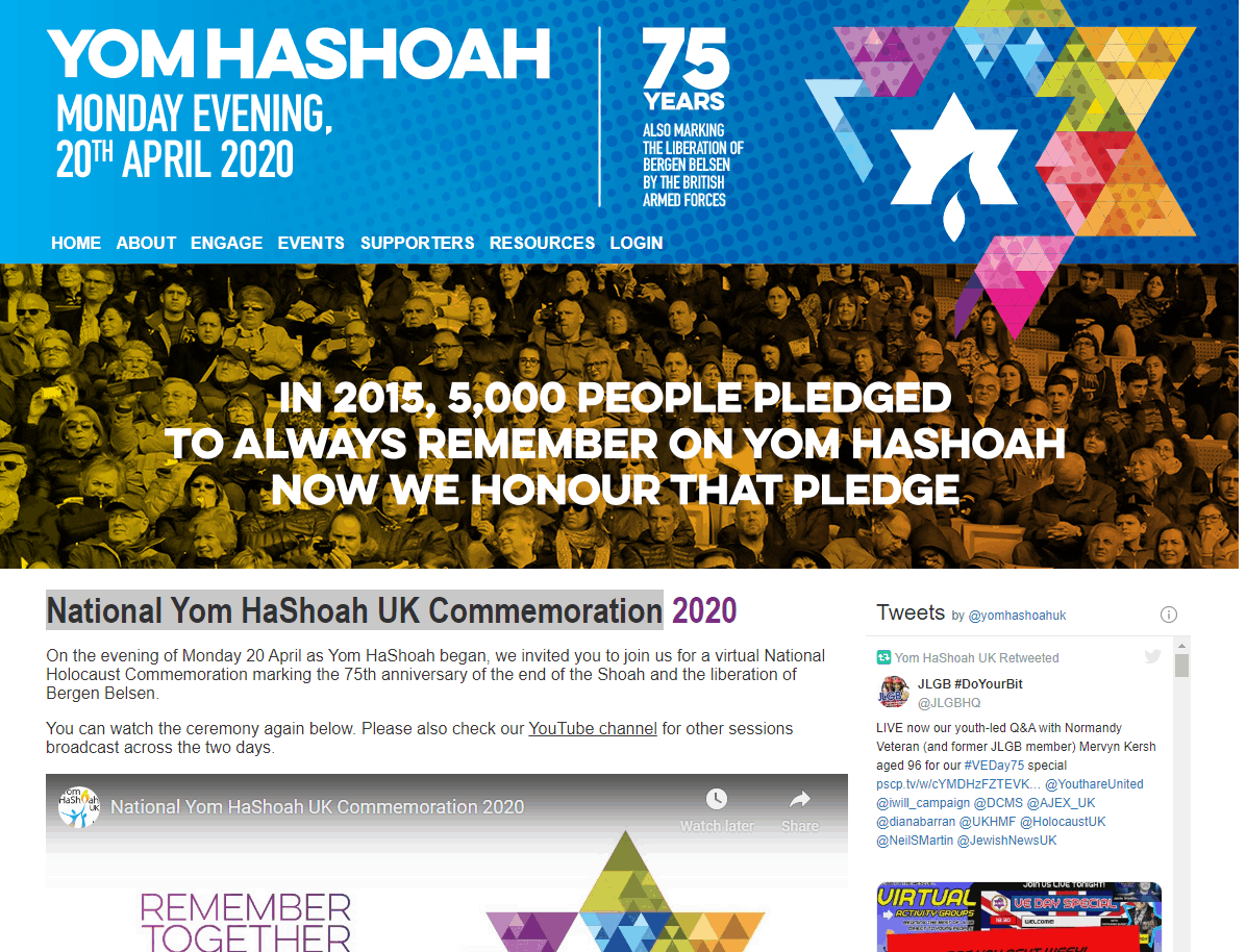 Forum for Yom Hashoah