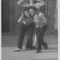 (Bottom left) Edith Buxbaum Frydman. Photo courtesy of the Frydman family.