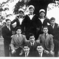 The Boys in Finchley Road hostel, courtesy of Kurt Klappholz.